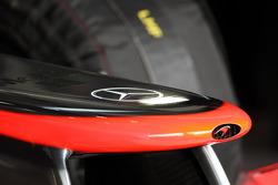 McLaren nosecone