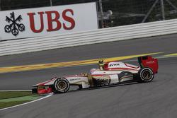 Narain Karthikeyan, HRT Formula One TeamTeam is spinning