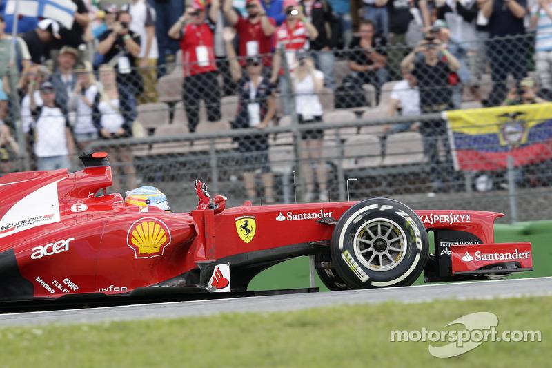 Winnaar Fernando Alonso, Scuderia Ferrari