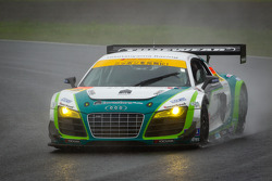 #99 Hitotsuyama Racing Audi R8 LMS: Frank Yu, Hideto Yasuoka
