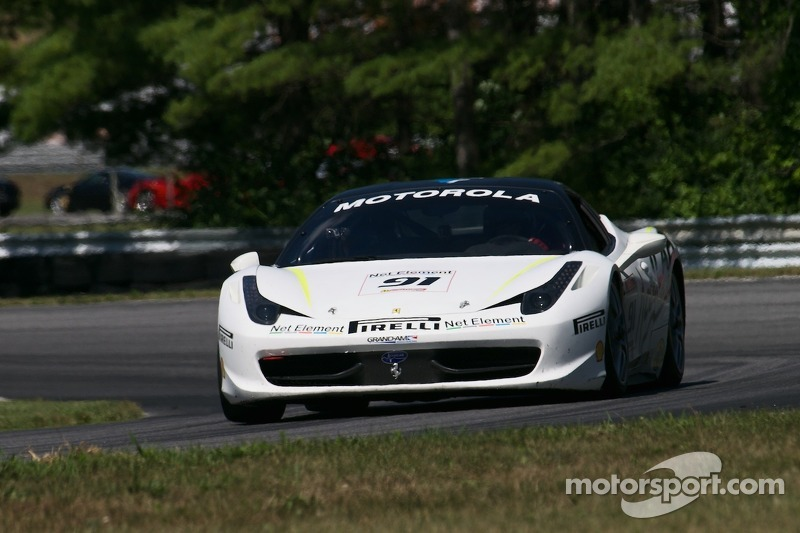 #91 Ferrari of Ft. Lauderdale 458CS:  Guy Leclerc