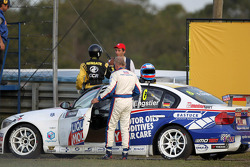 Franz Engstler, BMW 320 TC,  Liqui Moly Team Engstler retires from the race