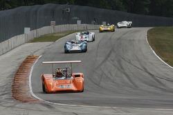#44 1970 Lola T165 : Jim Ferro #11 1965 Lola T70 MkI : Marc Devis #22 1968 McLaren M6B : Robert Bordin #171 1965 Genie Mk10B:  A.C. D'Augustine #27 1968 Lola T70 MkIIIB : David Ritter