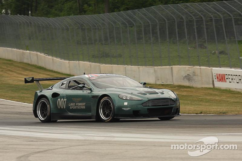 007 2006 Aston Martin Dbrs9 Rick Mancuso At The Hawk Vintage Photos