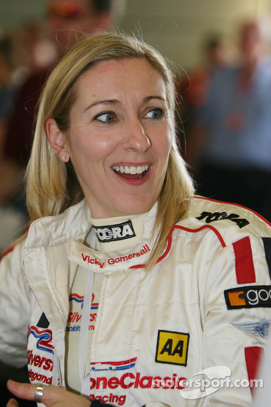 Vicky Gomersall at Silverstone Classic