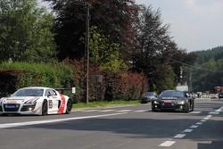 #23 United Autosports Audi R8 LMS Ultra: Mark Patterson, Mark Blundell, Alain Li, Richard Meins