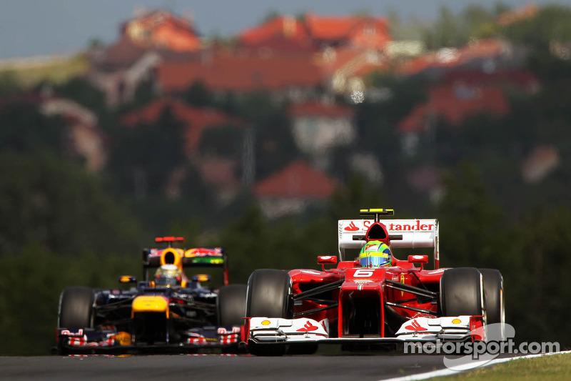 Felipe Massa, Ferrari voor Sebastian Vettel, Red Bull Racing