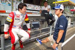 Daisuke Nakajima, Yuki Nakayama and Satoru Nakajima