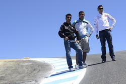 Michele Pirro, Honda Gresini and friends at the corkscrew