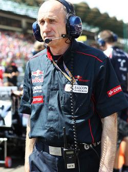 Franz Tost, Scuderia Toro Rosso Team Principal op de grid