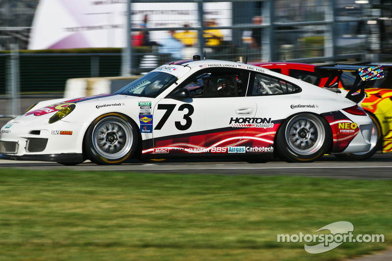 #73 Horton Autosport Porsche GT3 Cup: Patrick Lindsey, Eric Foss