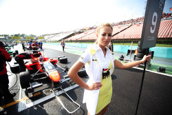 Grid girl of  Tio Ellinas