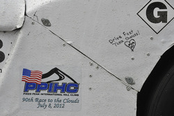 #37 Acura NSX: Cody Loveland detail