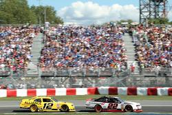 Sam Hornish Jr. and Jacques Villeneuve
