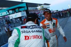 GT300 winner Kazuki Hoshino