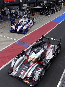 #2 Audi Sport Team Joest Audi R18 Ultra: Allan McNish, Tom Kristensen