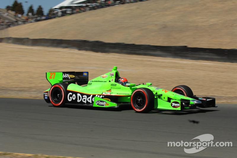 James Hinchcliffe, Team GoDaddy.com Andretti Autosport Chevrolet