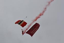 The Parachute regiment display team