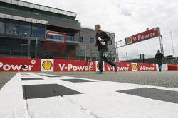 Sebastian Vettel, Red Bull Racing running on the track