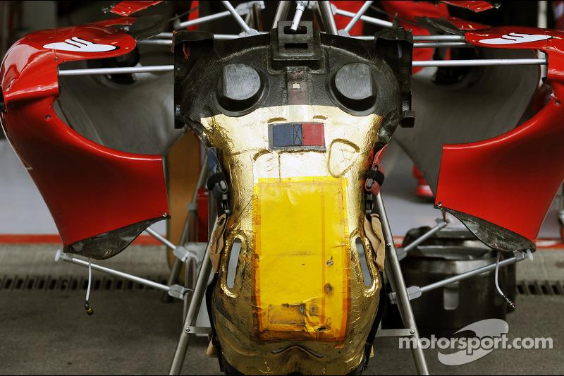 Ferrari F2012 zitje