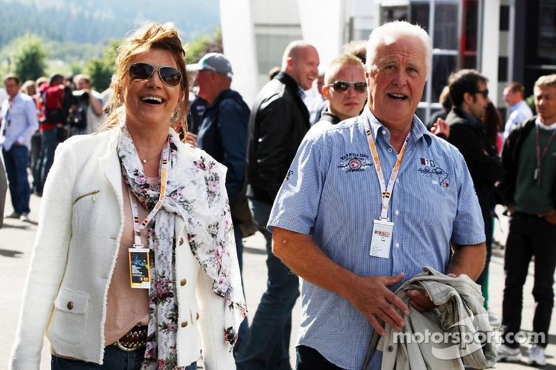 Rolf Schumacher, vader van Michael Schumacher, Mercedes AMG F1