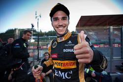 Race 1 winner Daniel Abt