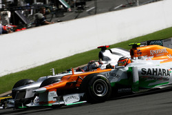 Michael Schumacher, Mercedes GP and Nico Hulkenberg, Sahara Force India Formula One Team