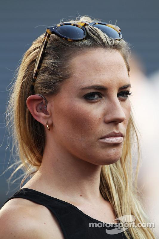 Georgie Thompson, Sky Sports F1 Presenter at Italian GP