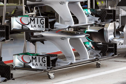 Mercedes AMG F1 front wings