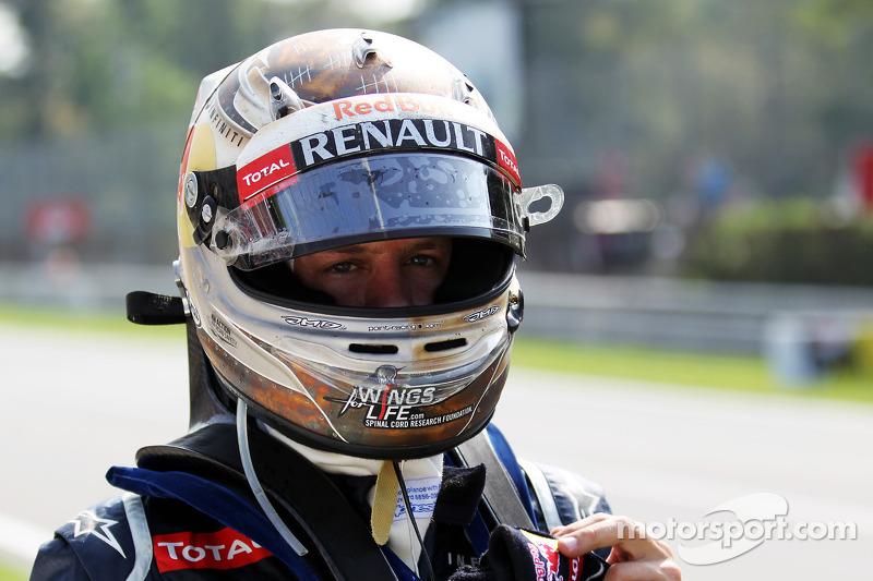 Sebastian Vettel, Red Bull Racing opgave