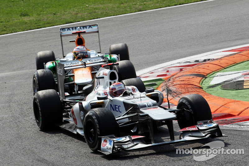 Kamui Kobayashi, Sauber voor Paul di Resta, Sahara Force India