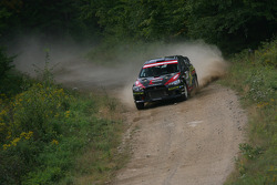 Antoine L'Estage and Nathalie Richard, Mitsubishi EVO X