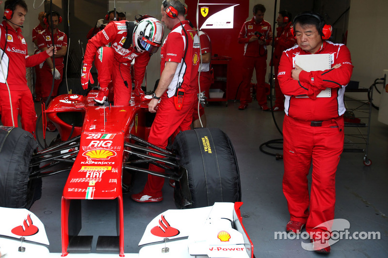Davide Rigon, Scuderia Ferrari and Hirohide Hamashima, Scuderia Ferrari
