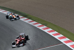 Davide Rigon, Scuderia Ferrari and Jules Bianchi, Sahara Force India Formula One Team