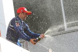 GT500 podium: race winner Joao Paulo de Oliveira