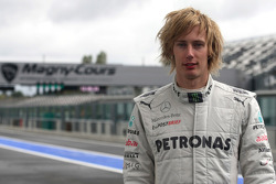 Brendon Hartley, Test driver, Mercedes AMG F1