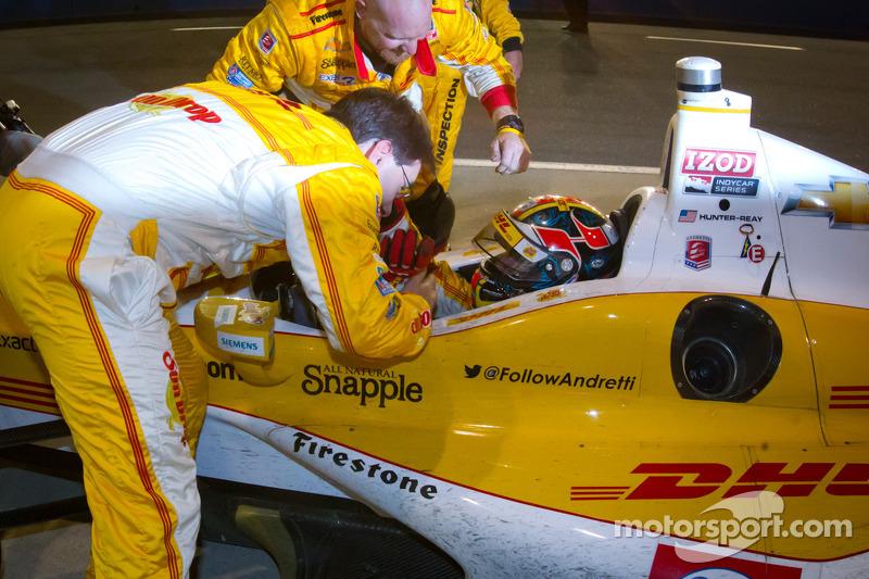 IndyCar Series 2012 kampioen Ryan Hunter-Reay, Andretti Autosport Chevrolet