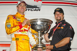 IndyCar Series 2012 champion Ryan Hunter-Reay, Andretti Autosport Chevrolet with Michael Andretti