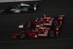 Dario Franchitti, Target Chip Ganassi Racing Honda and Scott Dixon, Target Chip Ganassi Racing Honda