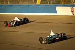Ryan Briscoe, Team Penske Chevrolet and Ed Carpenter, Ed Carpenter Racing Chevrolet