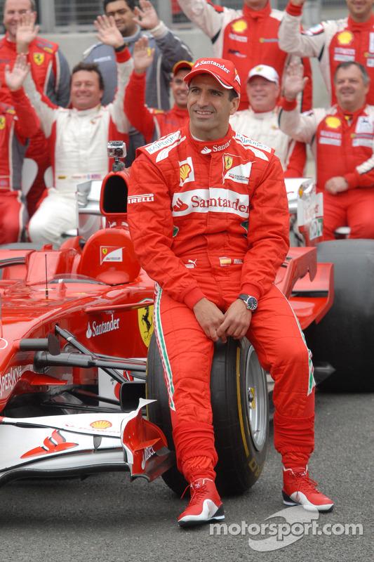 Marc Gene, Ferrari testrijder