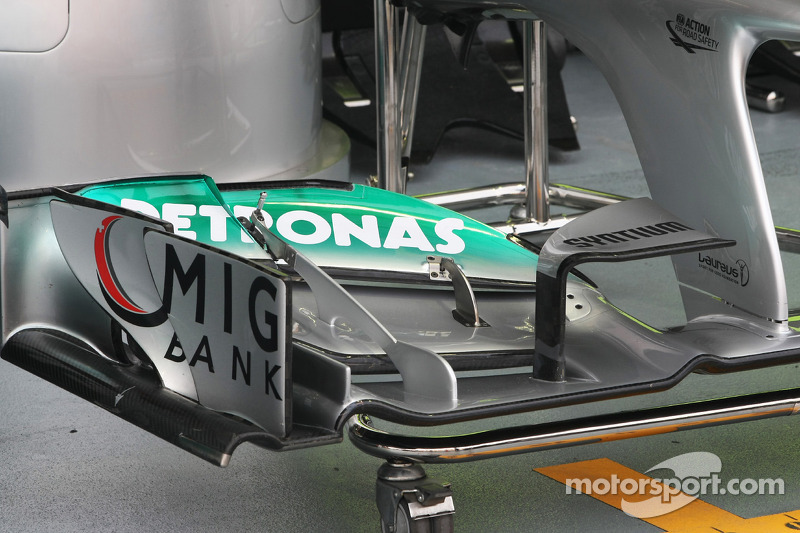 Mercedes AMG F1 front wing