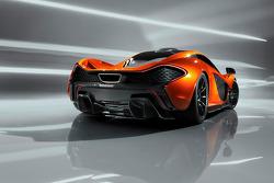The McLaren P1 studio shoot