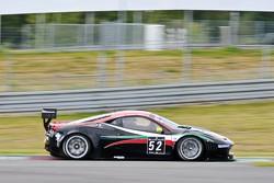 #52 AF Corse Ferrari 458 Italia: Niek Hommerson, Louis Machiels, Andrea Bertolini