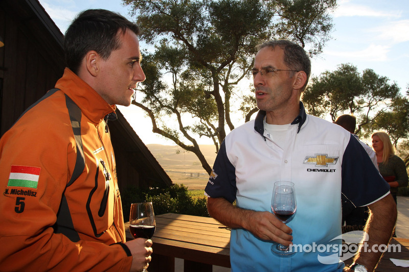Welcome cocktail, Norbert Michelisz, Chevrolet Cruze 1.6T, Chevrolet