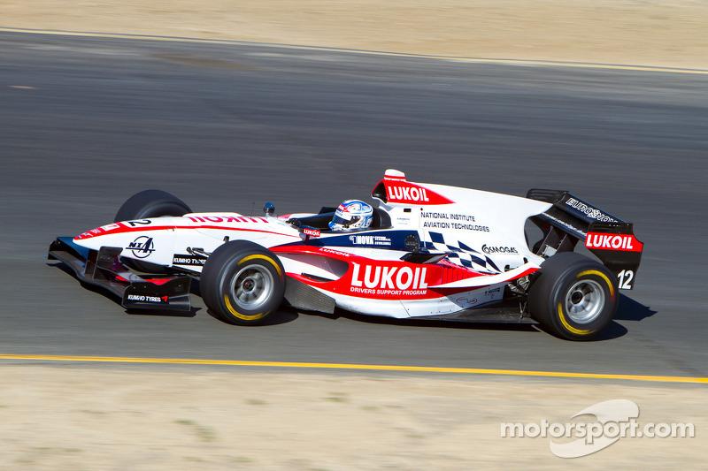 2012: третье место в AutoGP