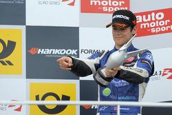 Podium: third place Tom Blomqvist