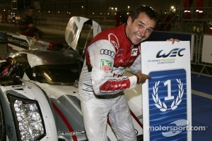 Benoit Tréluyer celebrates victory in Bahrain