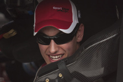 Race winner Joey Logano