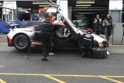 #1 Hexis Racing McLaren MP4-12C GT3: Frederic Makowiecki, Stef Dusseldorp